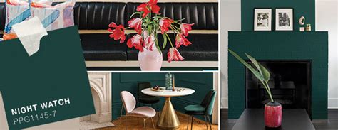 voice of color ppg the voice of color 174 paint color trends collections