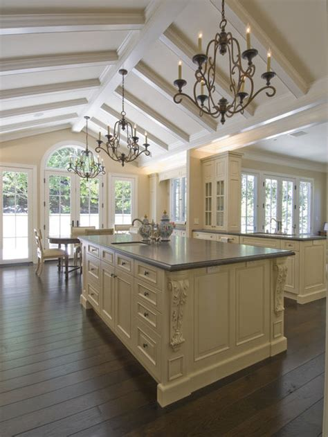 Vaulted Kitchen Ceiling Ideas Vaulted Ceiling Kitchen Houzz
