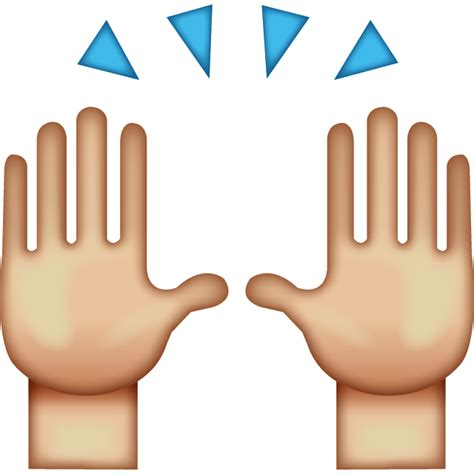 Emoji High Five | we rate the turnbull government s progress on human rights