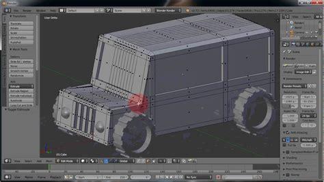 cara membuat gambar 3d max cara membuat mobil jeep di blender youtube