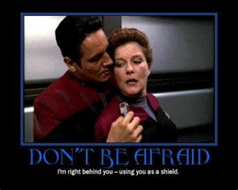 Star Trek Voyager Meme - star trek voyager commander chakotay and captain kathryn