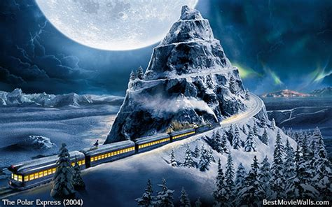 christmas wallpaper polar express polar express wallpaper hd bestmoviewalls 02 by