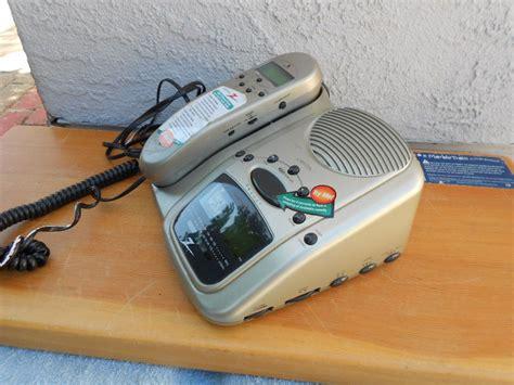 telephone radio alarm clock combinations zenith phone telephone alarm clock radio combo z814t