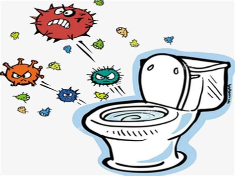 bathroom germs cartoon g 233 rmenes wc g 233 rmenes virus png image para