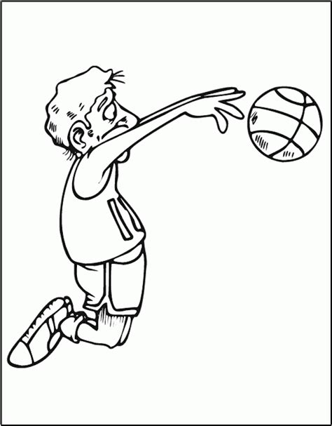 coloring pages basketball players basketball player coloring pages coloring home