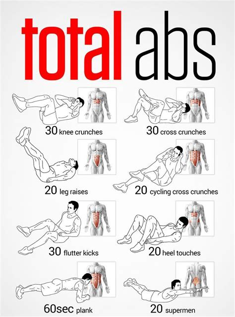 work all of your ab muscles by doing different types of exercises http lifecare eu
