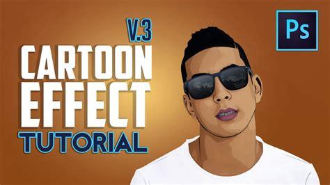 Photoshop Tutorial Cs5 Cartoon Effect | adobe photoshop cartoon effect youtube