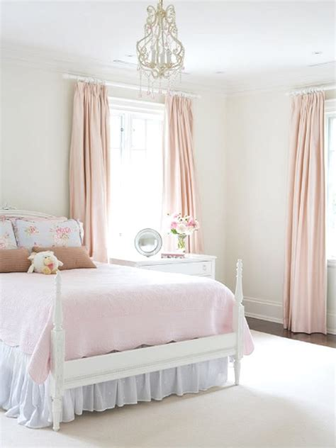 pale pink bedroom bed bedroom decor girly interior pink image 69156 on