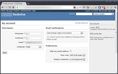 my account redmine enable email notification when file uploaded to