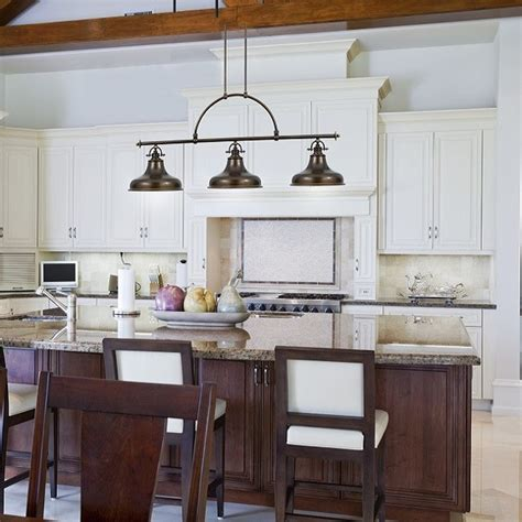 Transitional Kitchen Island Lighting Emery 3 Light Island Light Palladian Bronze Transitional Kitchen Island Lighting South