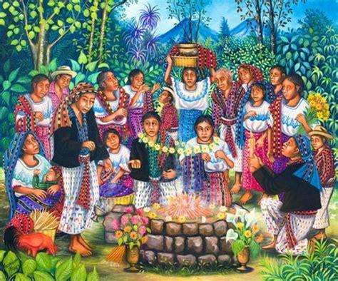 imagenes de familias mayas mi guatemala folklorica