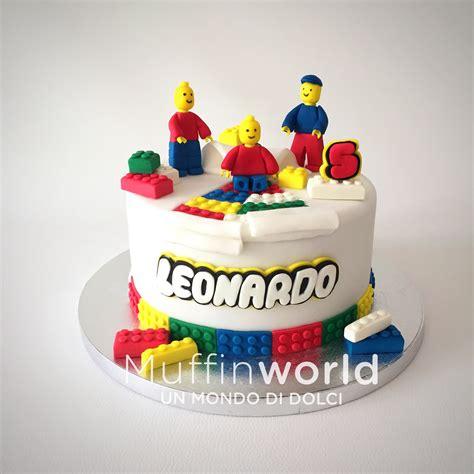 Tutorial Mattoncini Lego In Pasta Di Zucchero | torte per bambini muffinworld