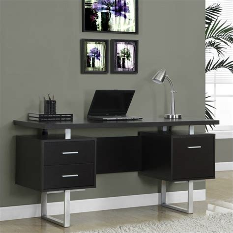 60 Office Desk by 60 Quot Hollow Office Desk In Cappuccino I 7080
