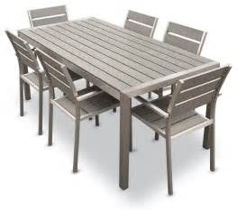 72 Round Dining Room Table habana 7 piece outdoor dining set contemporary outdoor