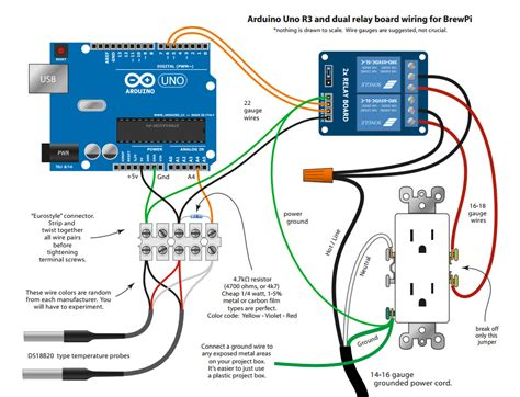 4 wire arduino diagram