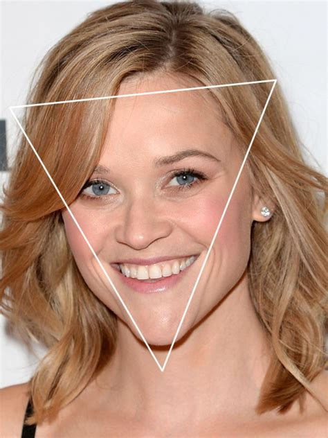 before and after pics of triangle face hairstyles the best and worst bangs for inverted triangle faces