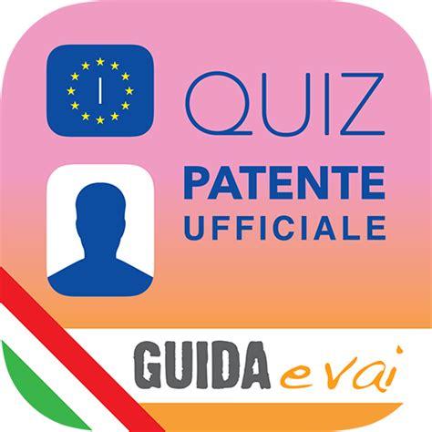 test patente esame patente auto moto a1 a b simulazione test quiz