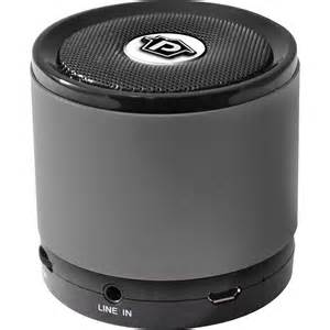 pyle home bluetooth mini speaker black pbs2bk b h photo