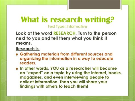 How To Make An Research Paper - research paper lesson plans 5th grade term paper