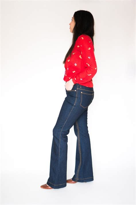 pattern for bootcut jeans ginger flared jeans sewing pattern bootcut flares