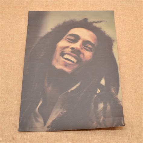reggae singer bob marley poster home room wall decor fan