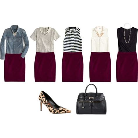 wine colored skirt quot wine colored pencil skirt ideas quot by connie