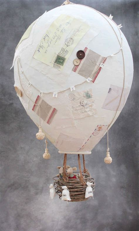 Handmade Air Balloon - 25 best ideas about paper mache balloon on