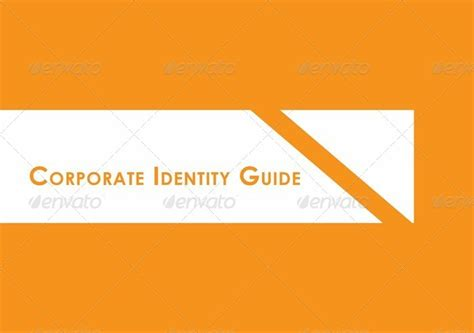 corporate identity manual template corporate identity guide template by carlos fernando