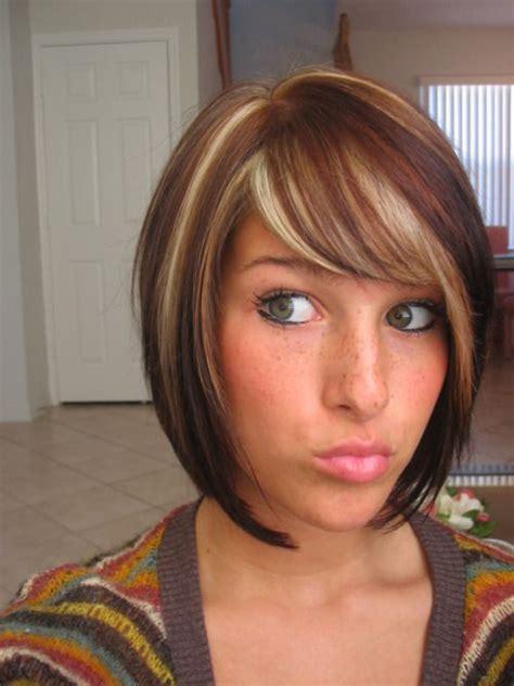 dark brown highlited bob sexy haircuts 100 hot bob hairstyles you may like pretty designs dark