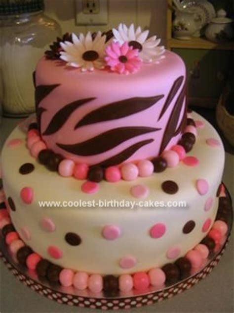 Coolest Baby Shower Cakes by Coolest Zebra Themed Baby Shower Cake