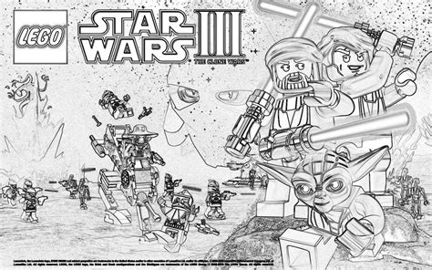 free coloring pages of obi wan clone wars