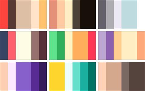 beautiful color palettes color palettes 3 by rrrai on