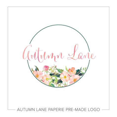 design logo shabby chic shabby chic watercolor floral badge style logo