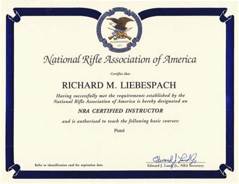 nra certificate template nra certificate