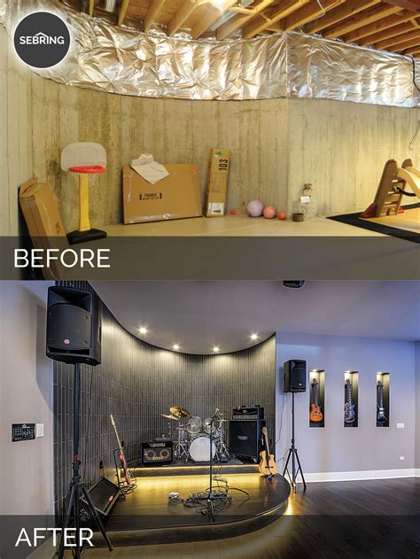 before and after basement sidd nisha s basement before after pictures home
