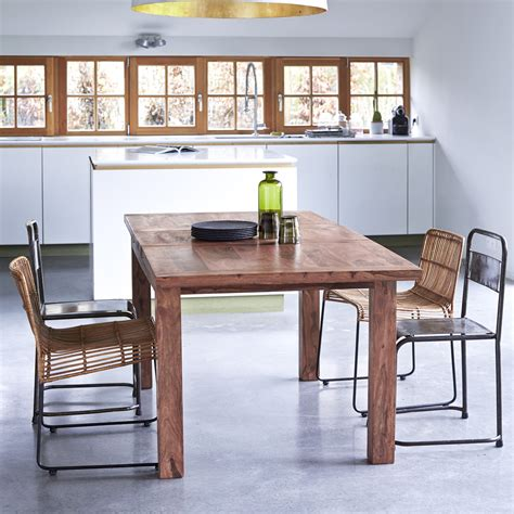 extendable dining table india tikamoon solid sheesham palisander indian rosewood