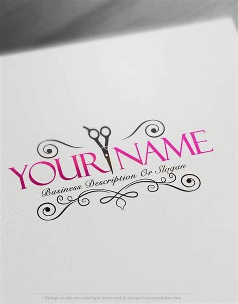 Exclusive Logo Design Hair Salon Logo Images Free Hair Salon Logos Templates