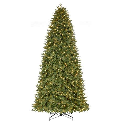 12 ft alexander quick set fir home accents 12 ft noble fir set artificial tree with 1450 clear lights