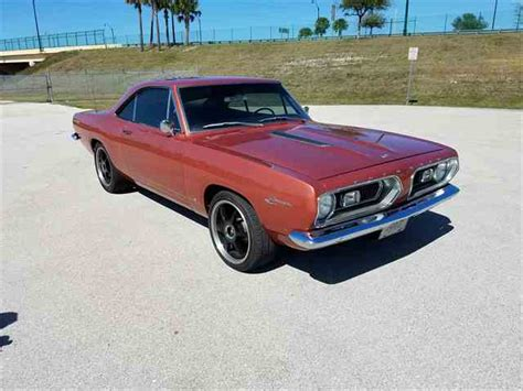 1967 plymouth barracuda parts 1967 to 1969 plymouth barracuda for sale on classiccars