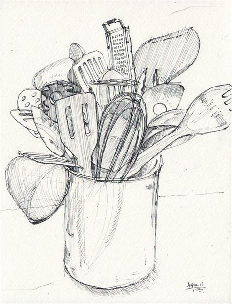 Drawing Utensils by Drawings Of Kitchen Utensils Search