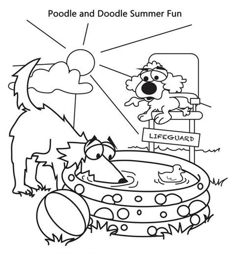luxury summer reading coloring pages artsybarksy