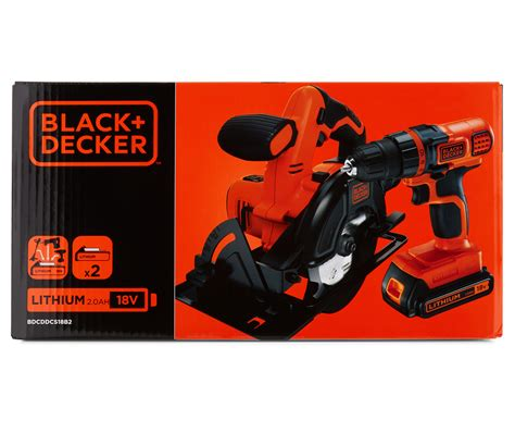 black decker store black decker 18v drilldriver circular saw 2 kit