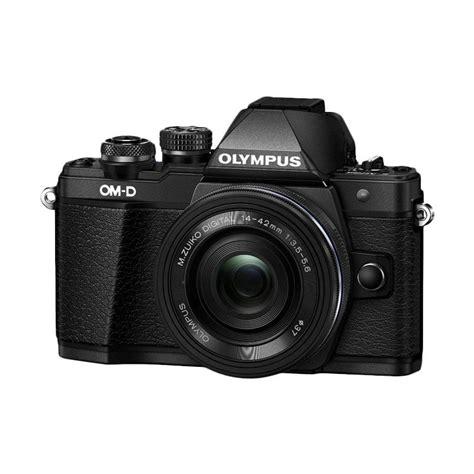 Kamera Mirrorless Olympus jual olympus om d e m10 ii kit 14 42mm kamera mirrorless hitam harga kualitas