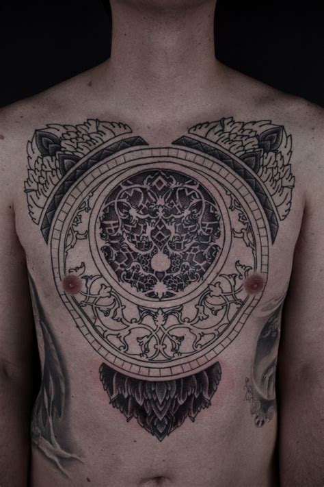 unique chest tattoos 388 best images about chest on ink