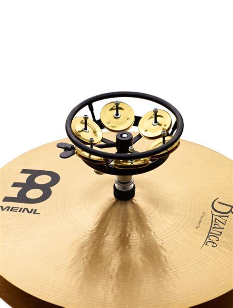 Meinl Hthh1b Bk Hihat Tambourine 1 Row Brass Tamborin Cymbal meinl professional hi hat tambourine 5 quot brass jingles 1 row black ebay