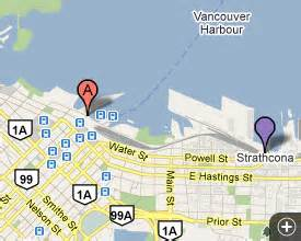 map of canada place cruise ship terminal vancouver cruise ports luxury travel team