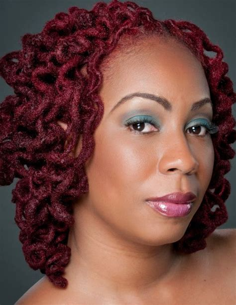 locs hairstyles for black women natural locs burgundy hairstyles for black women bing