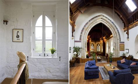dilapidated 18th century church transformed into a