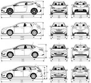 Opel Astra H Dimensions Dimensions Of A Ford F150 Auto Parts Diagrams