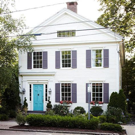 house and shutter color combinations best exterior color schemes shutters blue doors and doors
